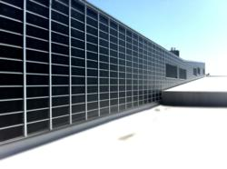 The Lubi™ glazed solar heating system can be used for ventilation or space heating and provides a rich architectural finish.