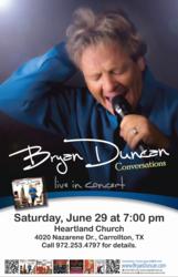 Bryan Duncan Carrollton Concert