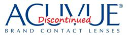 acuvue contacts discontinued