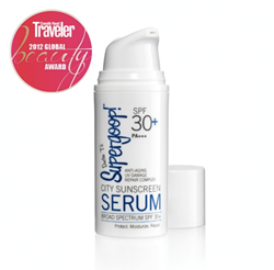 Supergoop! SPF 30 Anti-Aging City Sunscreen Serum for Travel