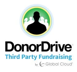 DonorDrive Third Party Fundraising Logo