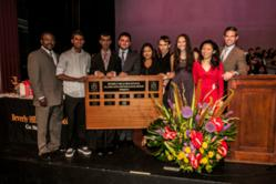 FaceLube Founder Candace Chen BHHS Alumni Scholarship Awards Group