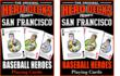 San Francisco Baseball Hero Decks