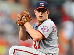 Nationals Pitcher Jordan Zimmerman