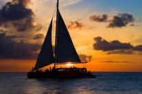 Sunset Sailing in Panama City Beach, FL