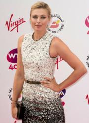 Maria Sharapova wears De Beers Diamond Jewellery