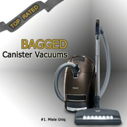 Determine which bagged canister vacuum is right for you with help from the ratings and reviews offered by eVacuumStore.