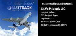 VoIP Supply 2013 Fast Track Companies List