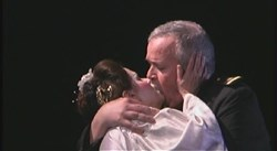 Peter and Karole Lewis in recent production of Madama Butterfly