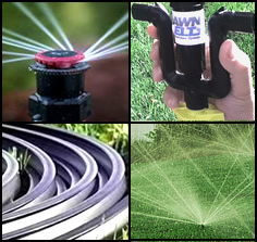 Sprinkler System w/ Rotators by Lawnbelt