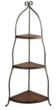 Sterling Lighting 3 TIER CORNER RACK, 125-037