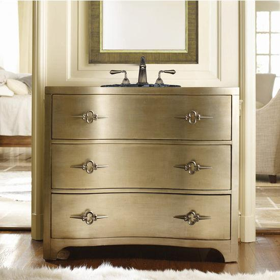 Hooker Furniture Bathroom Vanity: HomeThangs.com Has Introduced A Guide To Metallic Bathroom