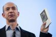 Image of Amazon Founder Jeff Bezos Introducing Kindle Device
