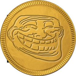 chocolate coin meme