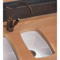 herbeau 4610 single basin fireclay bar sink from the cuisine series