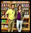 Jenna Wolfe of The TODAY Show interviews Darren Gann, President of The Baby Grocery Store.