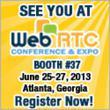 see us at WebRTC Expo