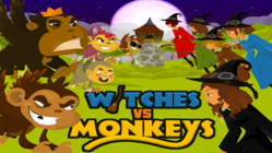 Witches vs. Monkeys Angry Birds meets The Wizard of Oz