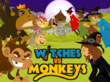 Witches vs. Monkeys characters