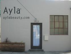 Ayla natural beauty boutique in San Francisco