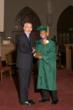 Headmaster Jim Rice pictured with Vigor in Arduis Award recipient Alexander Rodriguez