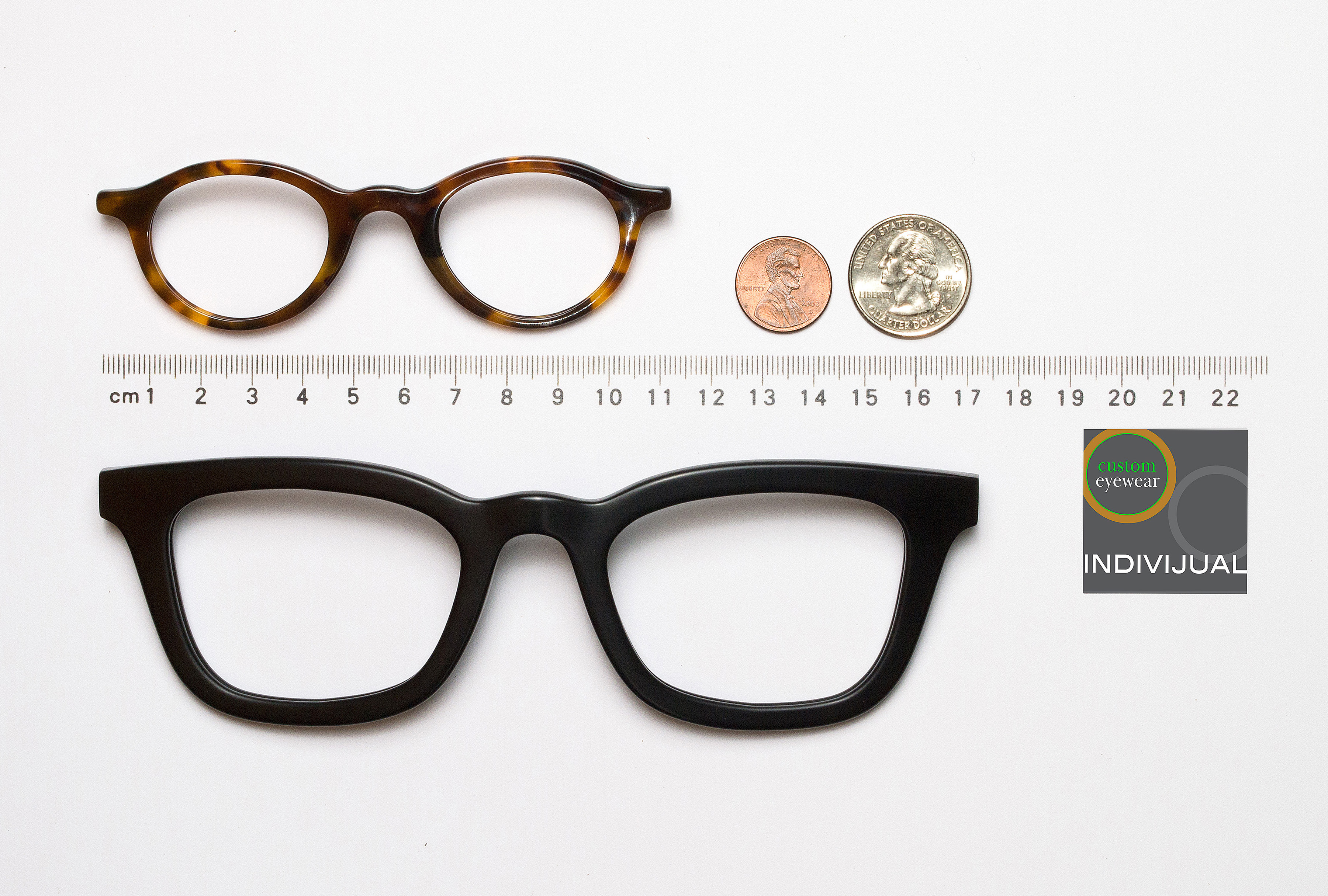 very large and very small custom fit eyewearindivijual custom eyewear crafts all sizes for all faces