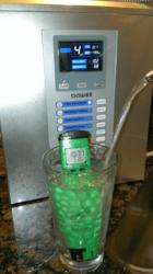 Customer ph testing of the Bawell Fountain model 1775 water ionizer.