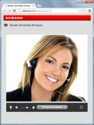 Akbank Video Customer Service