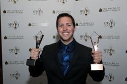 Stevie Award photo