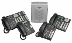 Nortel BCM 50 phone system with telephones