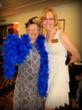 Best 1920s Costume Winner, Virginia DeBoar (left) and Silvergate Retirement Residences Administrator, Melba Dunn (right)