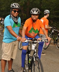 2011 Adventure Teen Challenge bicycle rider.