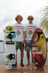 Keenan and Noah Flegel Join Polaroid Action Team http://polaroid.com/king-of-wake