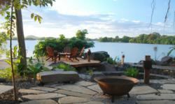 View from Jicaro Lodge along Lake Nicaragua