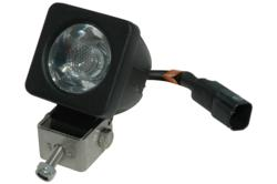Compact Infrared LED Tail Light for Covert Military Operation Vehicles