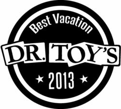 Dr. Toy Best Vacation Award