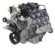 chevrolet engines for vans