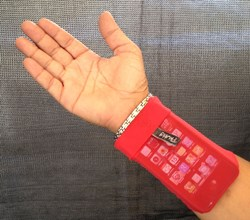 Phubby Wrist Cell Phone Holder