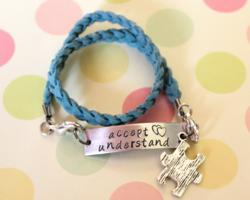 Autism Bracelet - Accept and Understand