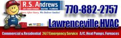 Trane, Carrier, Amana, Lennox, Bryant 24/7 Heating and Air Conditioner Repairs in Lawrenceville, GA by R.S. Andrews HVAC