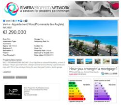 screen shot of Riviera Property Network Portal