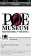 Poe Museum Audio Guide Preview Page 1 on MustSee Appplication