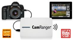 CamRanger Wireless Tethering and Wireless file transmitter for Canon and Nikon DSLRs