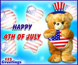 Fourth of July Cards, Free Fourth of July eCards, Happy Fourth of July, Fourth of July Wishes, Fourth of July Fireworks, Fourth of July 2013, July 4th ecards, Greeting Cards | 123 Greetings