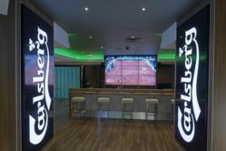 A weekend of international sport in celebration of Carlsberg Sports Bar's 1st birthday