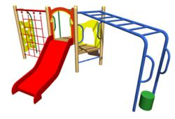 Action Zone Play Frame