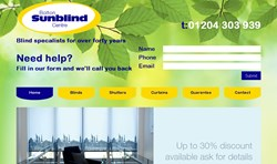 New website for Bolton Sunblind Centre