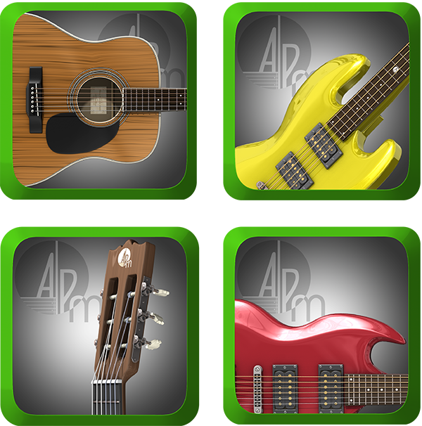atplaymusic releases four playalong music apps for beginner guitar. Black Bedroom Furniture Sets. Home Design Ideas