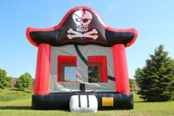 BounceHouseGalore.com's PVC Pirate Bounce House is available for immediate delivery.