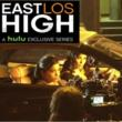 "Jossara Jinaro and Alicia Sixtos on the set of ""East Los High"""